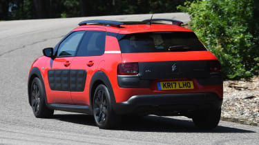 Citroen C4 Cactus review - rear