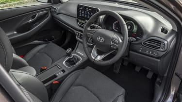 New Hyundai i30 interior - wide view