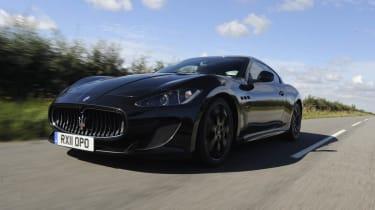 Maserati GranTurismo MC Stradale front
