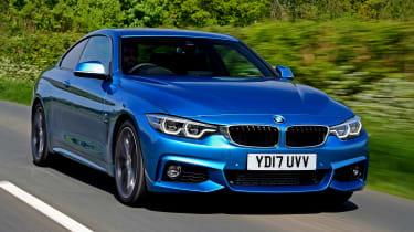 BMW 420d M Sport - front action