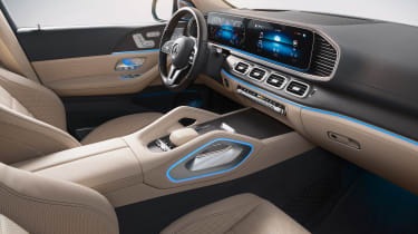 Mercedes GLS - studio interior