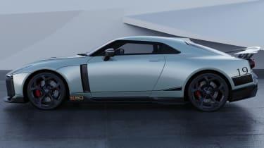 Nissan GT-R50 by Italdesign - grey side static