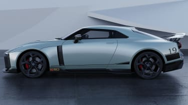 Nissan GT-R50 by Italdesign - grey side static
