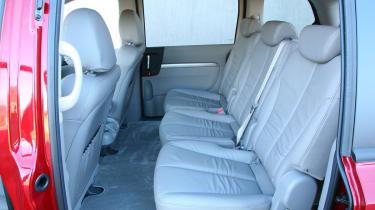 Kia Sedona rear seats