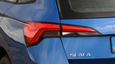 Skoda Scala - rear light