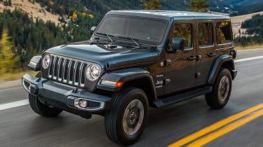 New Jeep Wrangler - front