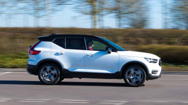Volvo XC40 Recharge T5 long termer - first report side
