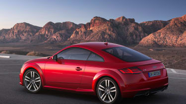 Audi TT - rear static