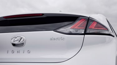 Hyundai Ioniq Electric - rear detail