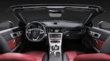 Mercedes SLC roadster - dash