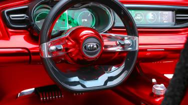 Kia Proceed concept - Frankfurt steering wheel