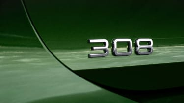Peugeot 308 - 308 badge