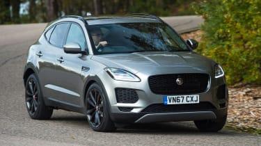 Jaguar E-Pace review - front