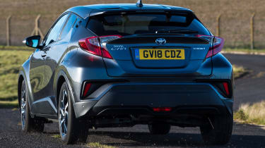 Toyota C-HR - rear cornering