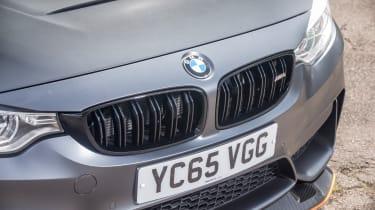 BMW M4 GTS UK 2016 - front detail
