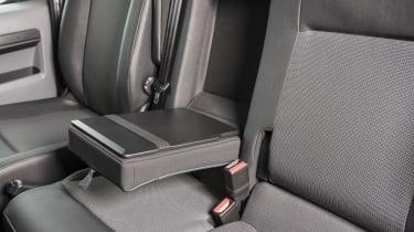 Vauxhall Vivaro van - armrest