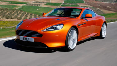 The Virage sits nicely between the DB9 and the DBS.