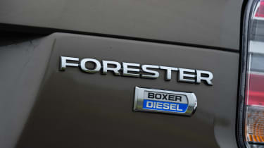 Subaru Forester - rear badge