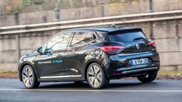 Renault Clio E-Tech - rear cornering