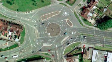 The Magic Roundabout, Swindon, Wilts, UK