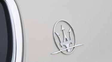 Maserati Quattroporte badge