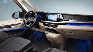 Volkswagen T7 Multivan - cabin