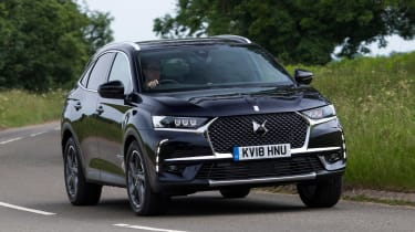 DS 7 Crossback - front cornering