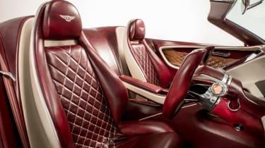 Bentley EXP 12 Speed 6e - interior seats