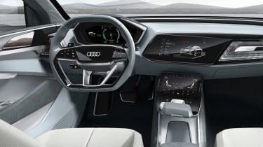 Audi e-tron Sportback concept - dash