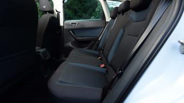 SEAT Ateca 1.2 TSI 2017 - rear seats