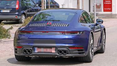 Next generation Porsche 911 taillight