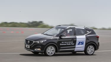New MG ZS SUV 2017