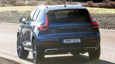 Volvo XC40 T5 Twin Engine - rear cornering