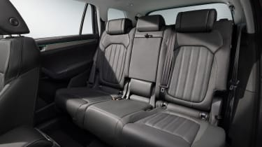 Skoda Kodiaq facelift - rear seats