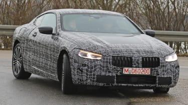 BMW 8 Series - spy shot front