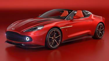 Aston Martin Vanquish Zagato Speedster - front