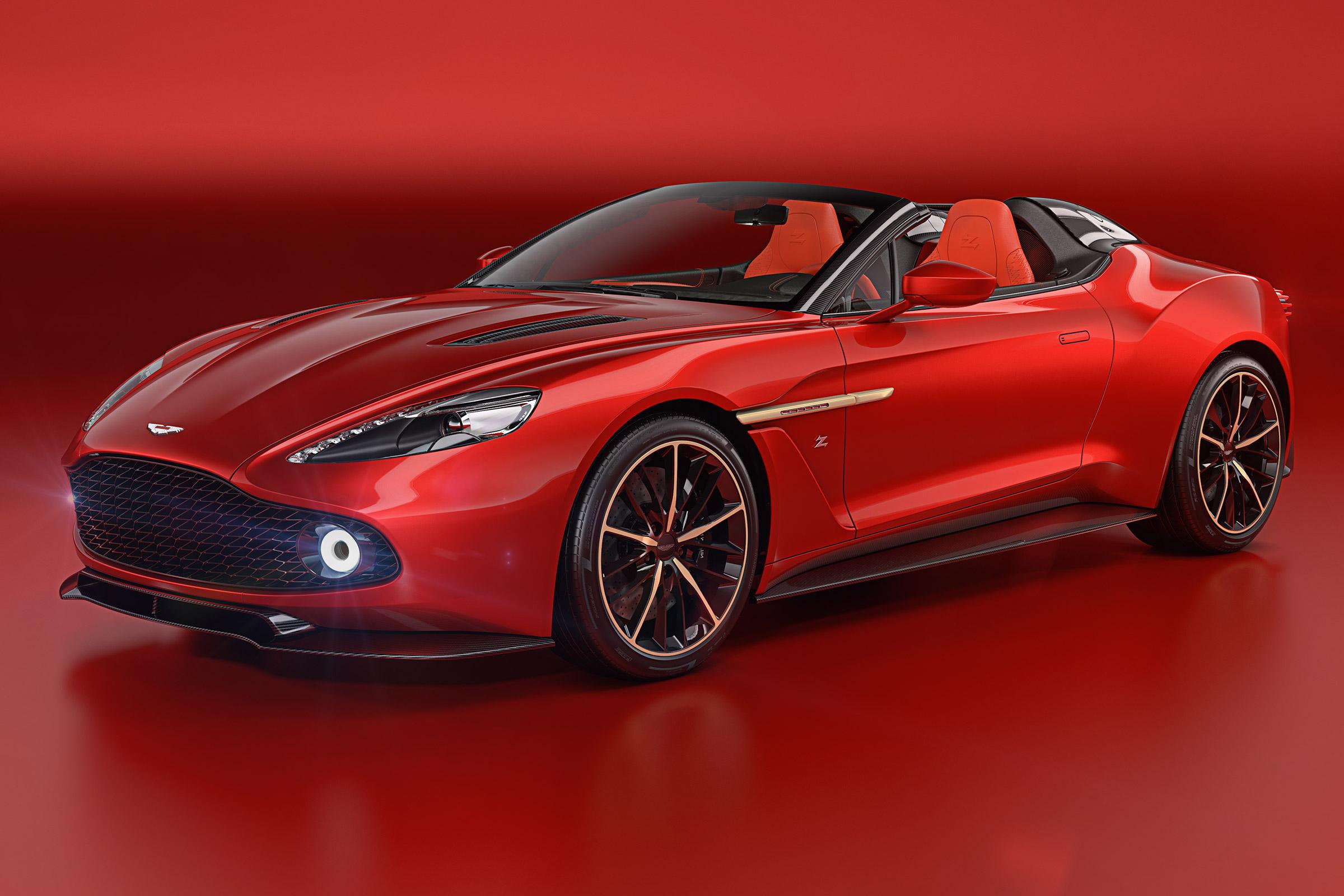 Aston Martin Vanquish Zagato Speedster Unleashed Auto Express