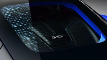 Lotus Emira - engine cover