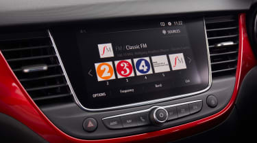 Vauxhall Crossland - screen