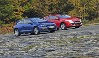 Renault Megane Coupe Vs. VW Scirocco