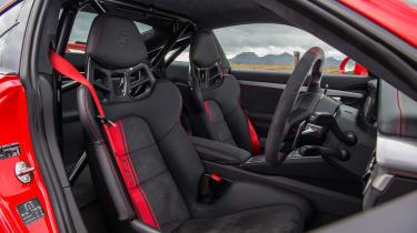 Porsche 911 GT3 - front seats