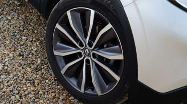 MG GS vs rivals - Renault Kadjar wheel