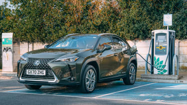 Lexus UX 300e - charging