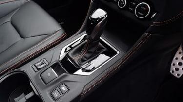 Subaru XV - centre console