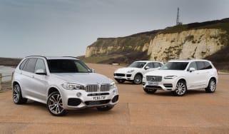 BMW X5 vs Porsche Cayenne vs Volvo XC90 - header