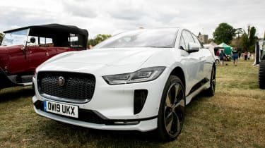 Jaguar I-Pace long termer - second report - front 3/4 static