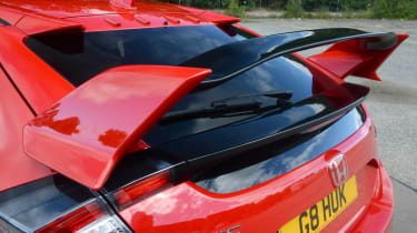 Honda Civic Type R - wing
