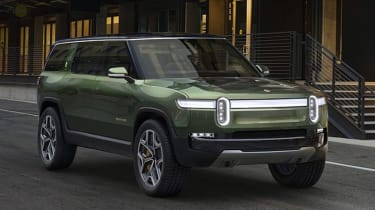 Rivian R1S - front