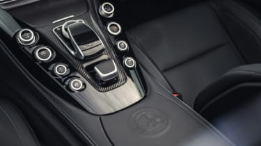 Mercedes-AMG GT C Roadster - controls