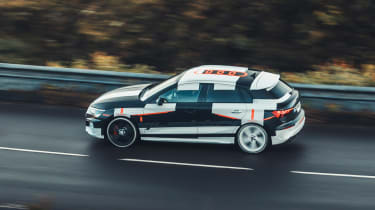 Audi S3 prototype - side